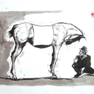 Dialogue (horse and mime)