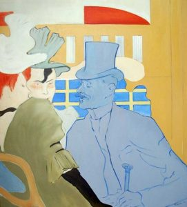 Homage to Lautrec
